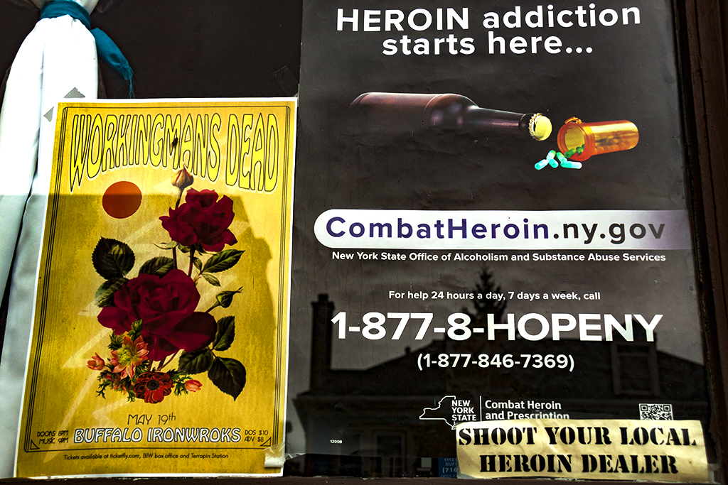 HEROIN addiction starts here--Buffalo