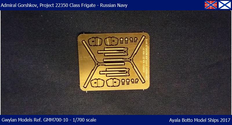 Frégate Gorshkov 417, Projet 22350 - Gwylan Models 1/700 35321735876_5111289b1d_o