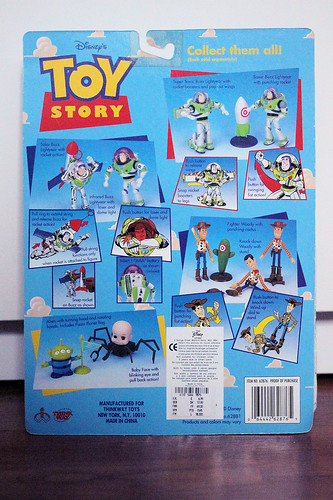 "Thinkway Toys ""Toy Story"" Baby Face Action Figure"