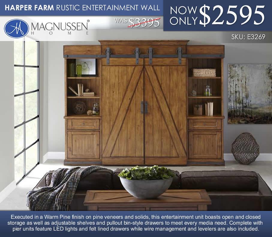 Magnussen Harper Farm Entertainment WallE3269