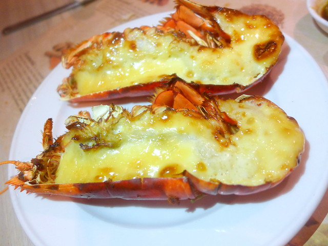 Flame Grilled Mentaiko Lobster