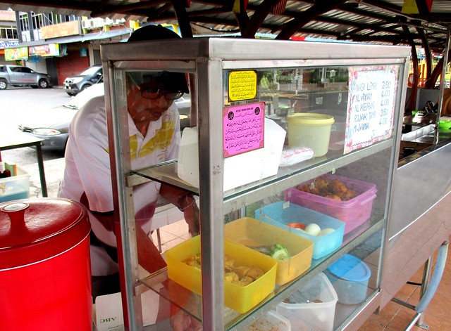 Nasi lemak stall, Bandong Walk
