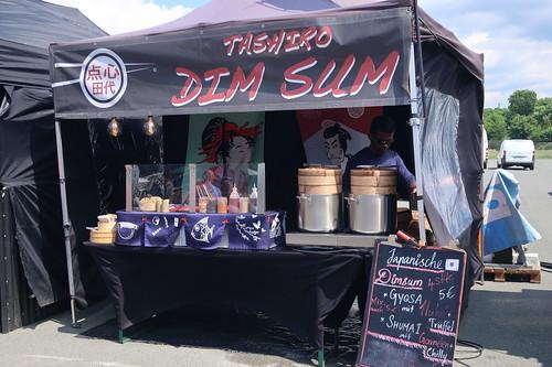 Japanische Dim Sum Stand (auf dem Street Food Festival in Osnabrück)