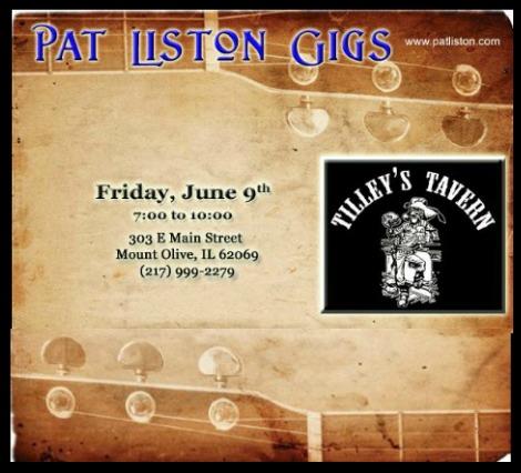 Pat Liston 6-9-17