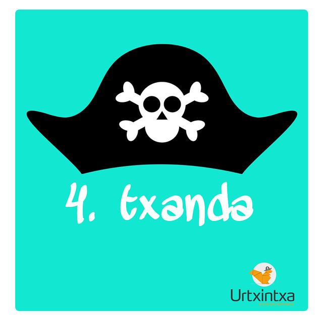 Pirata Udalekuak 2017- 4.txanda