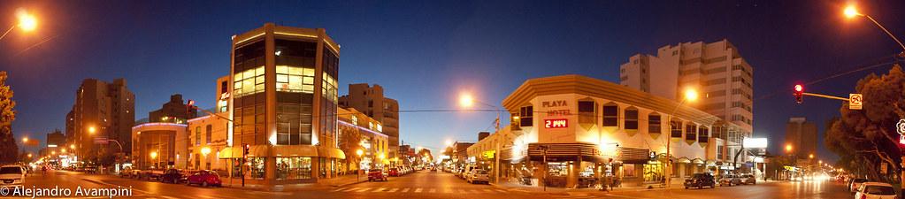 Puerto Madryn de noche