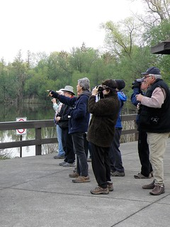 Lake Isaac Birders by Penny O'Connor