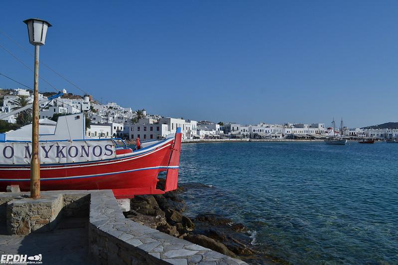 Puerto de Mykonos