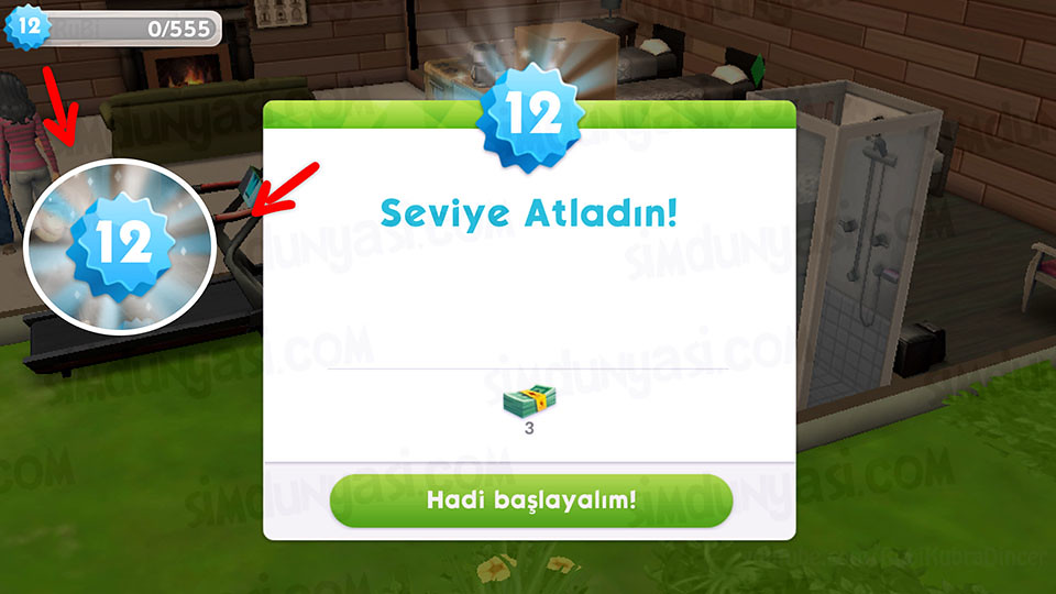 The Sims Mobile Level 12