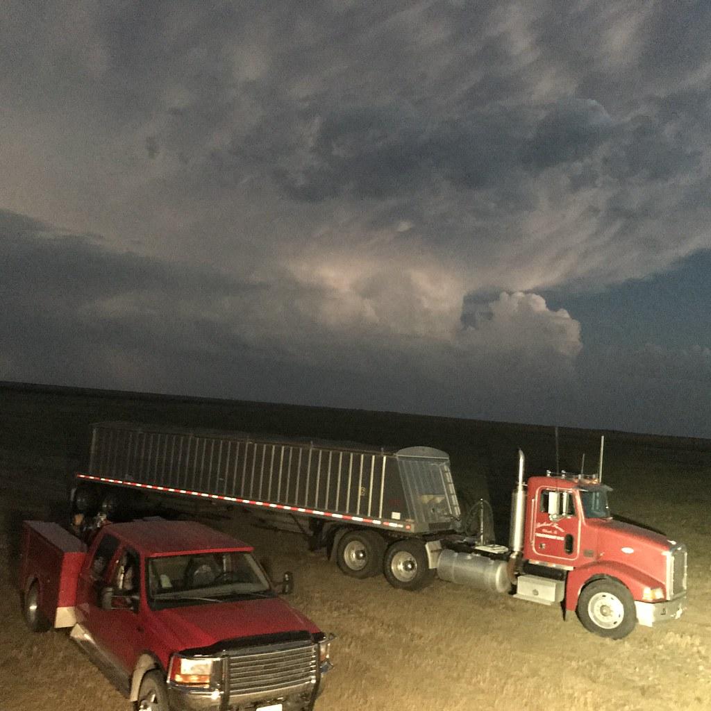 Storm's rollin in!