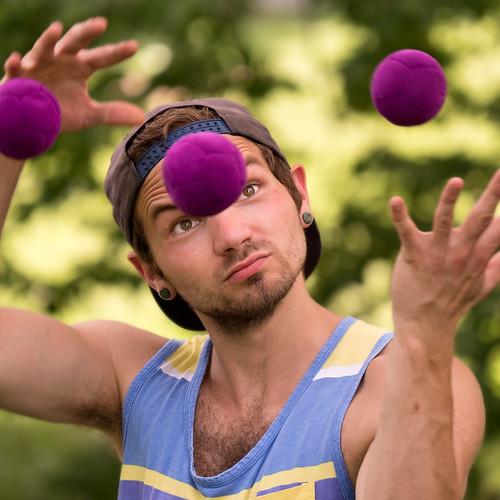 Jugglers in Peace Park - -0519