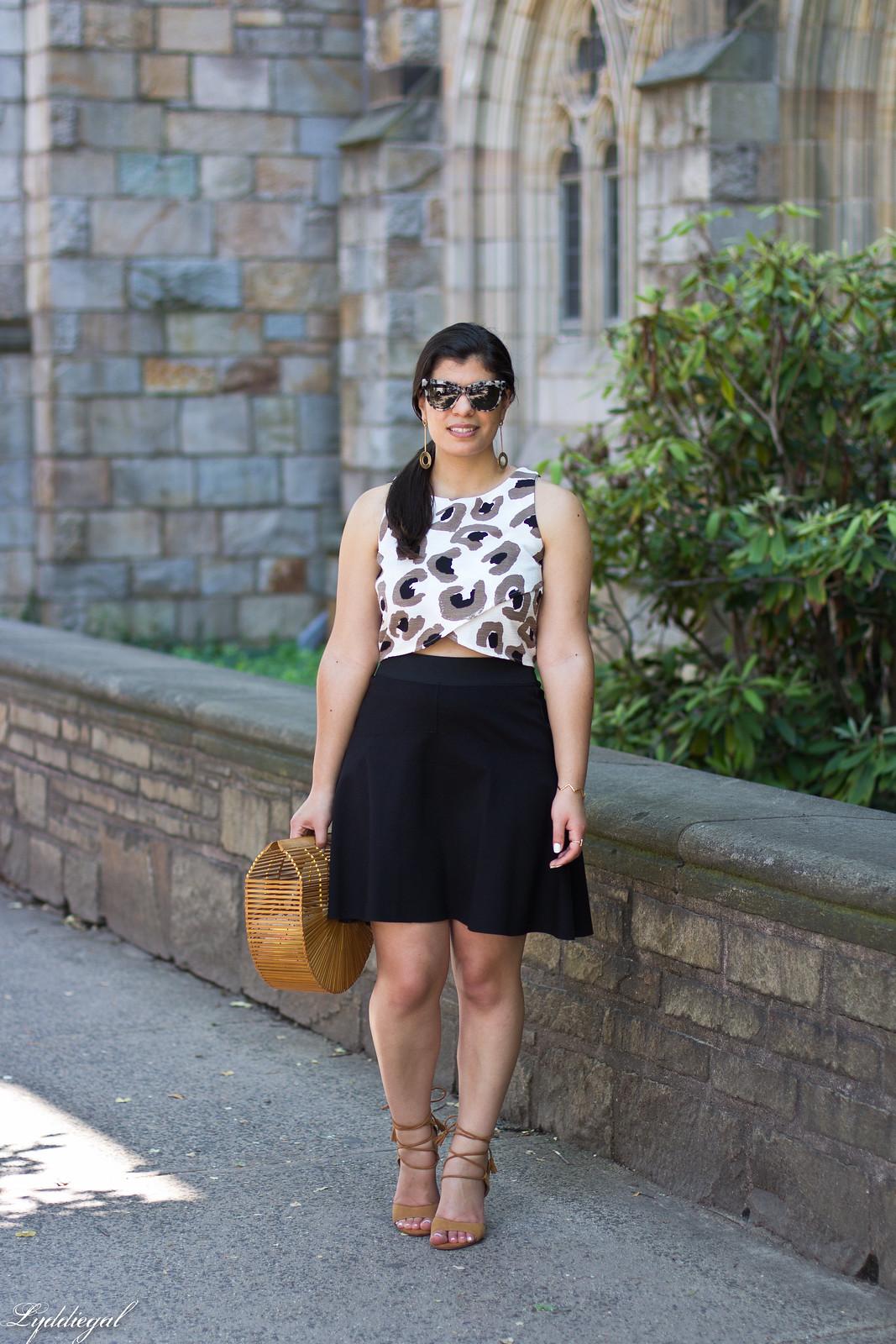 leopard crop top, black skirt, bamboo half moon bag-2.jpg
