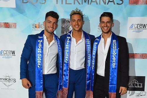 Ganadores de la gala Mister Global Dos Hermanas