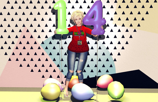 SL14B - Happy Birthday Second Life!