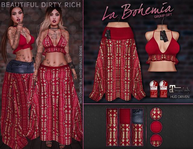 *B.D.R.* La Bohemia Group Gift