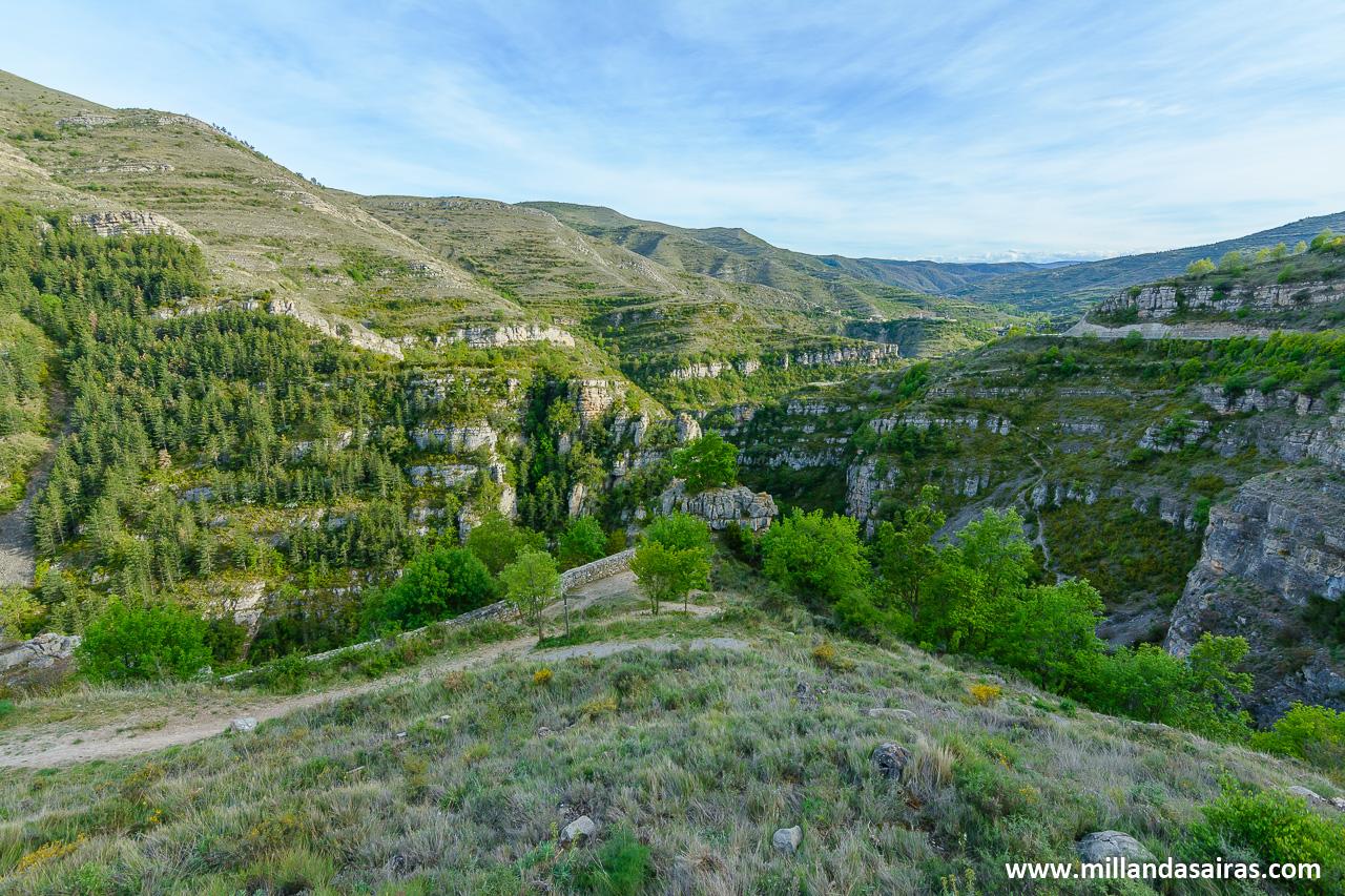 Mirador del cañón del Leza