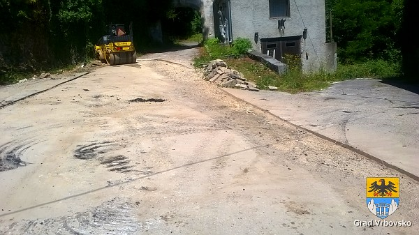 Severin na Kupi asfaltiranje - 12.06.2017.