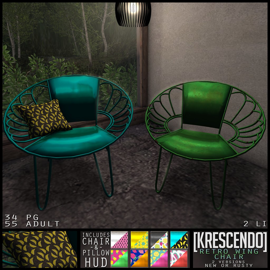 ... Retro Wing Chair | By [krescendo]