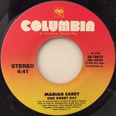 MARIAH CAREY:I AM FREE(LABEL SIDE-B)