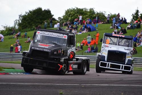 Mika Mäkinen, Sisu SL250 11000, British Truck Racing Championship, Thruxton 2017