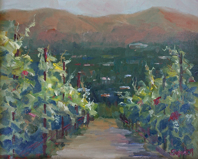 LGPA Mountain Winery oil