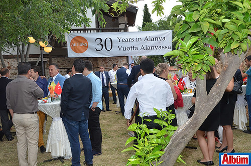 Aurinkomatkat'ın Alanya'ya ilk seferinin 30. yılına özel kokteyl