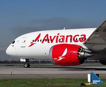 Avianca B787-8 N7882AV front (RD)