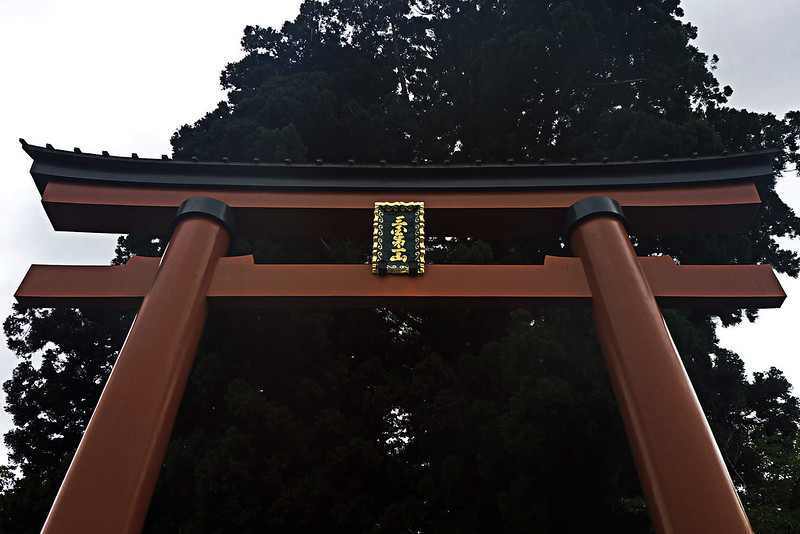 吉田の火祭りの翌日 河口浅間神社