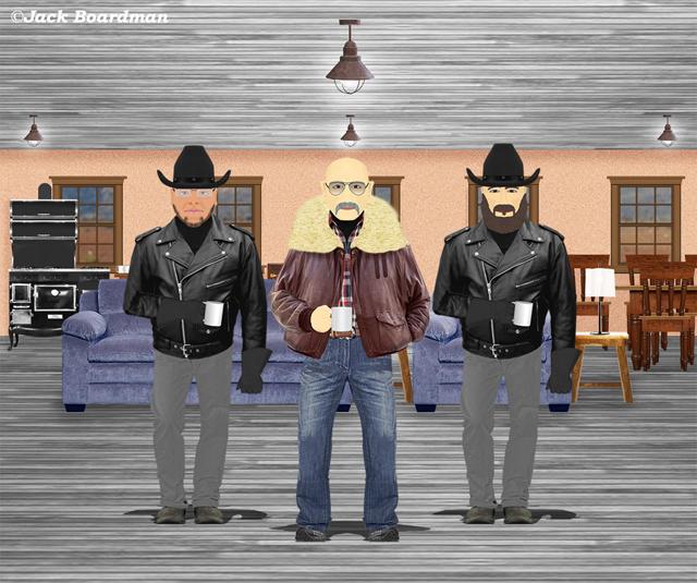 McGinty met with Alphonso & AJ ©Jack Boardman