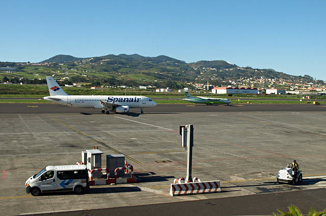 View from Tenerife North Airport, Tenerife
