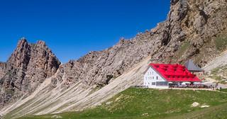 Schutzhaus Tierser Alpl, Roterdspitze