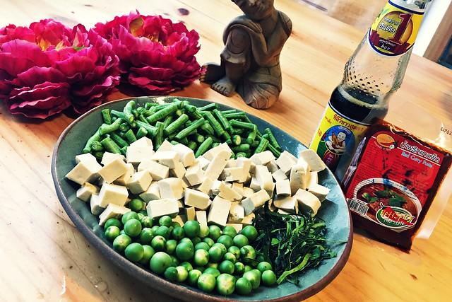 Pad Prik Gaeng (Vegan)