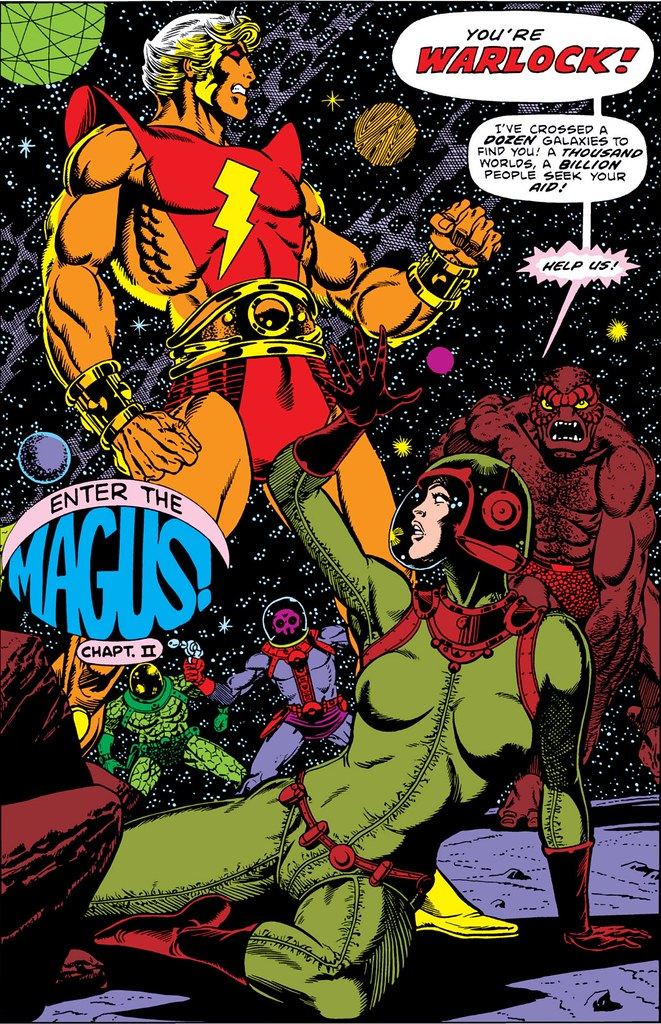 Strange Tales 178 splash Jim Starlin