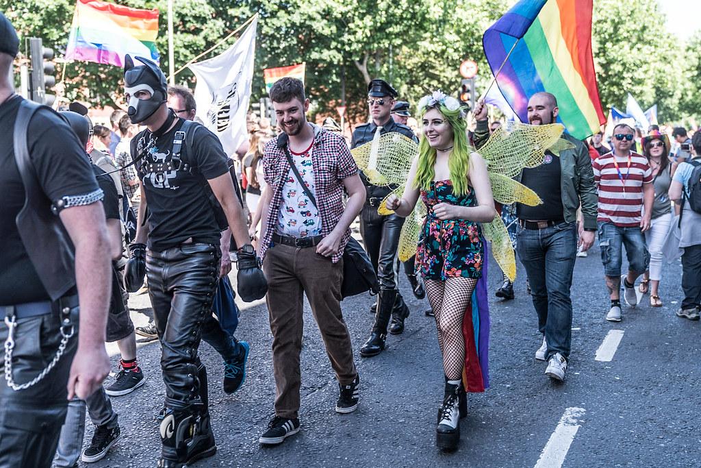 Gay parade jeep photo