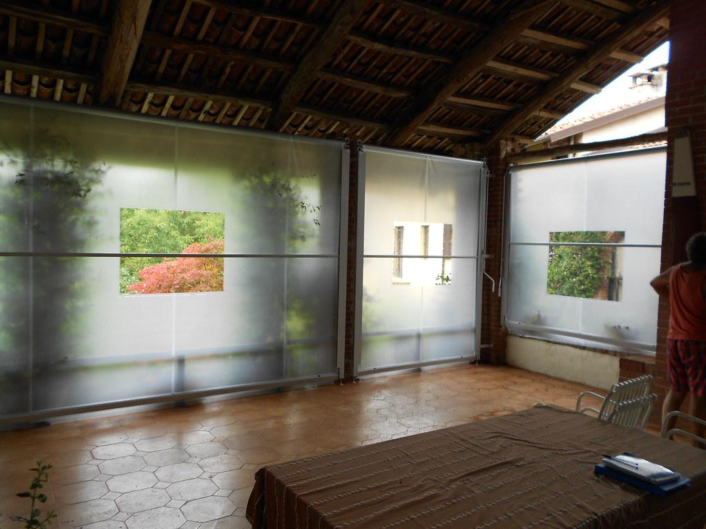 Tende Veranda Cristal : Tenda veranda invernale con finestra in cristal trasparentu flickr