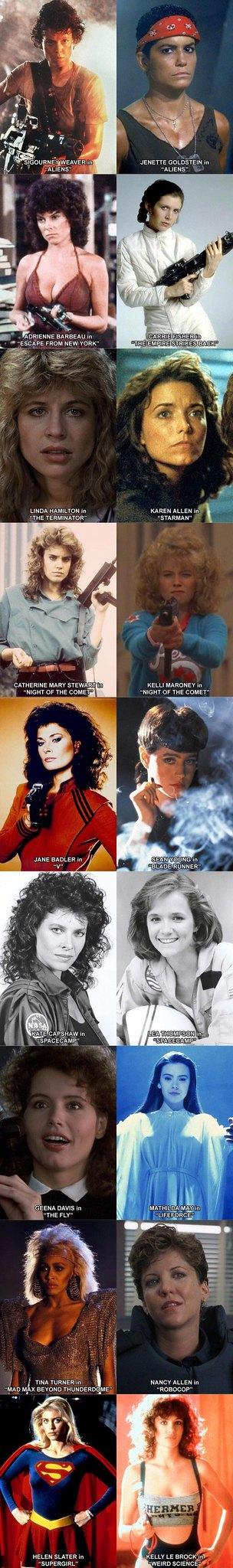1980s Sci-Fi Crushes