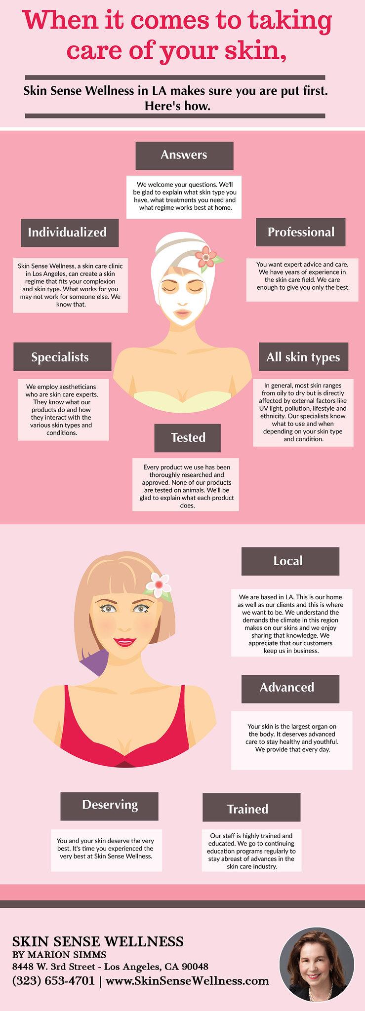 Skin Care Los Angeles - Call Skin Sense Wellness (323) 653-4701