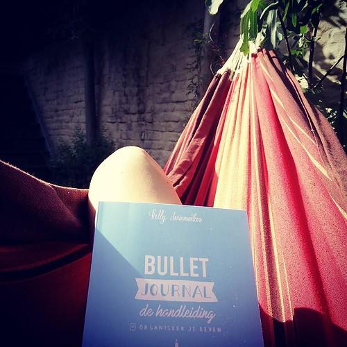 Deze bullet journal komt eigenlijk net op tijd, zo met die nieuwe job! @lilithu #bulletjournal #bujo #hangmat