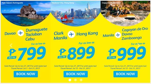 Cebu Pacific Air Promo Dad Holiday Break