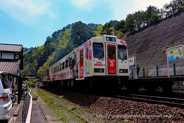 三陸鉄道 田野畑駅にて