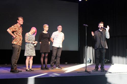 Patrick Lindroth, Linda Gustafsson, Elin Jansson, Anders Lundgren och Ola Hellsten.ar.