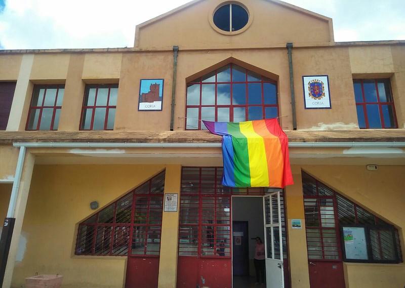 El Ayuntamiento de Coria se suma a la celebración del Día Internacional del Orgullo LGTB