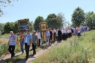 Крестный ход в скит святителя Иоанна Шанхайского. 1 июля 2017г.