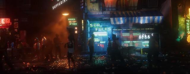 마지막 밤 - 사이버 펑크 거리