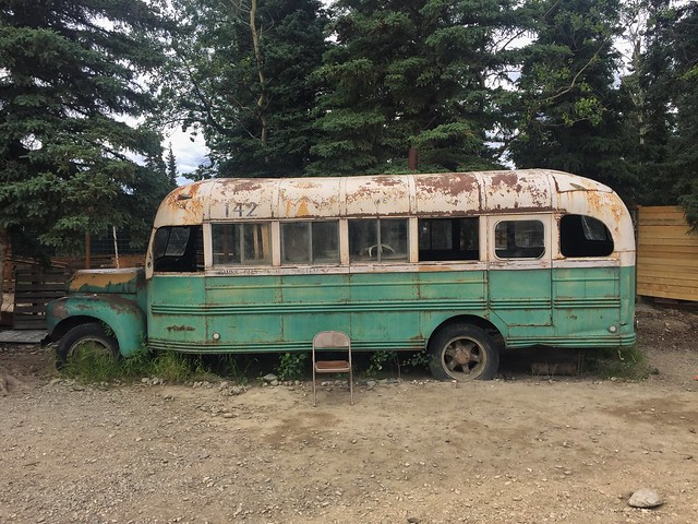 Magic Bus (réplica exacta situada en Healy, Alaska)