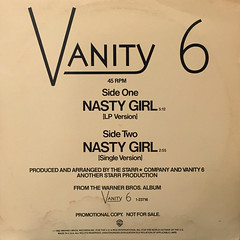 VANITY 6:NASTY GIRL(JACKET A)