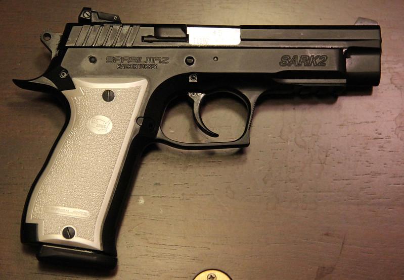 K2 Pistol: EAA 170840 SAR Arms K2 14+1 45ACP 4 7