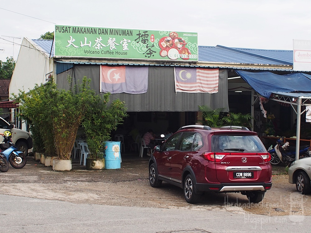 food, food review, hakka lei cha, hum cha, kelapa sawit, kulai, lei cha, lui cha, malaysia, thunder tea, 咸茶, 客家, 客家擂茶, 擂茶