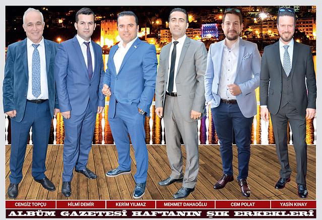 Cengiz Topçu, Hilmi Demir, Kerim Yılmaz, Mehmet Dahaoğlu, Cem Polat, Yasin Kınay