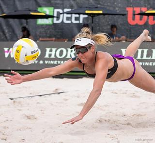 Professional Beach Volleyball